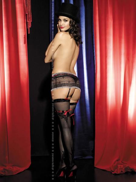Netzstrümpfe Showgirl von Obsessive