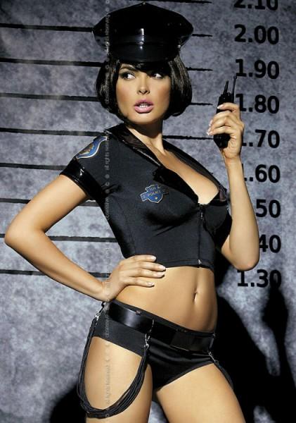 Polizei Kostüm, Police von Obsessive